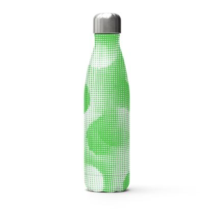 Stainless Steel Thermal Bottle - Endleaves of Art. Taste. Beauty (1932) Green Remix