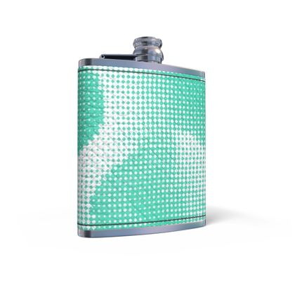 Leather Wrapped Hip Flask - Endleaves of Art. Taste. Beauty (1932) Jade Remix