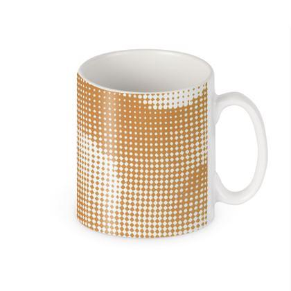 Builders Mugs - Endleaves of Art. Taste. Beauty (1932) Orange Remix