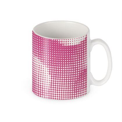 Builders Mugs - Endleaves of Art. Taste. Beauty (1932) Pink Remix