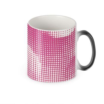 Heat Changing Mug - Endleaves of Art. Taste. Beauty (1932) Pink Remix