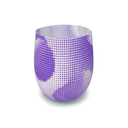 Water Glass - Endleaves of Art. Taste. Beauty (1932) Purple Remix