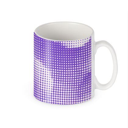 Builders Mugs - Endleaves of Art. Taste. Beauty (1932) Purple Remix