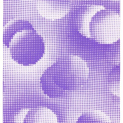 Cup And Saucer - Endleaves of Art. Taste. Beauty (1932) Purple Remix