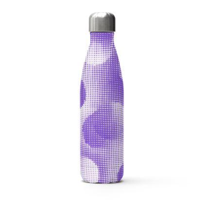 Stainless Steel Thermal Bottle - Endleaves of Art. Taste. Beauty (1932) Purple Remix