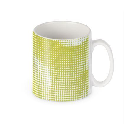 Builders Mugs - Endleaves of Art. Taste. Beauty (1932) Yellow Remix