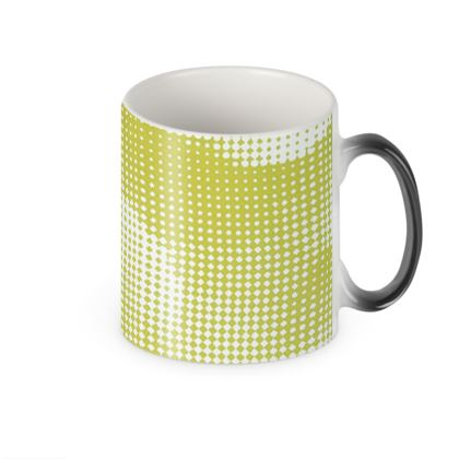 Heat Changing Mug - Endleaves of Art. Taste. Beauty (1932) Yellow Remix