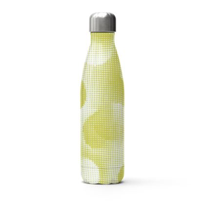Stainless Steel Thermal Bottle - Endleaves of Art. Taste. Beauty (1932) Yellow Remix