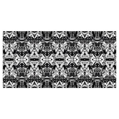 Monochrome Kaleidoscope Wallpaper