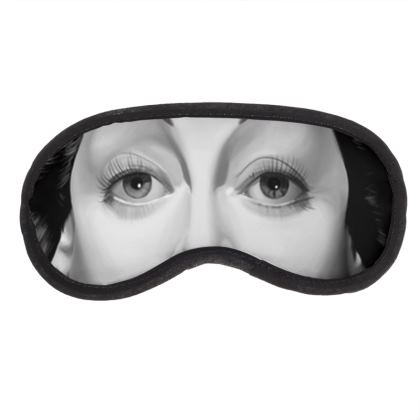 Hedy Lamarr Celebrity Caricature Eye Mask