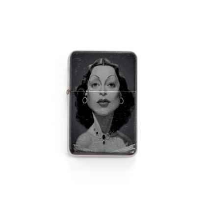 Hedy Lamarr Celebrity Caricature Lighter