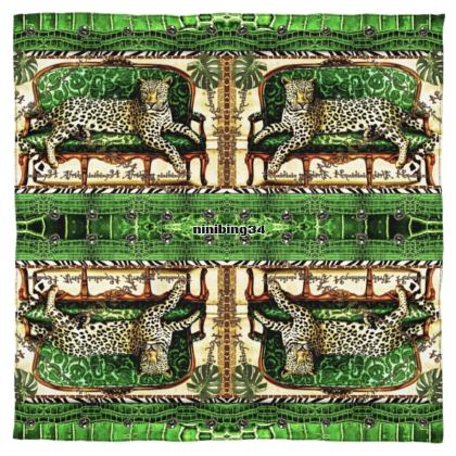 Seidensatin 115 x 115 cm feinste Seide