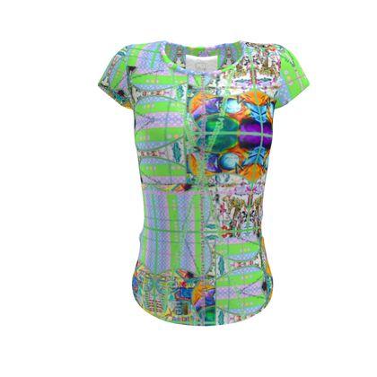 abgefahrenes Designer Shirt XS