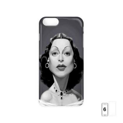 Hedy Lamarr Celebrity Caricature iPhone 6 Case
