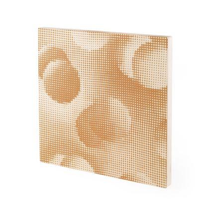 Wood Prints - Endleaves of Art. Taste. Beauty (1932) Orange Remix