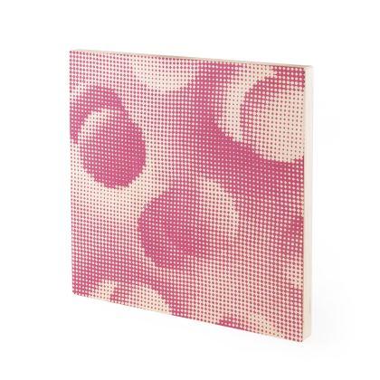 Wood Prints - Endleaves of Art. Taste. Beauty (1932) Pink Remix