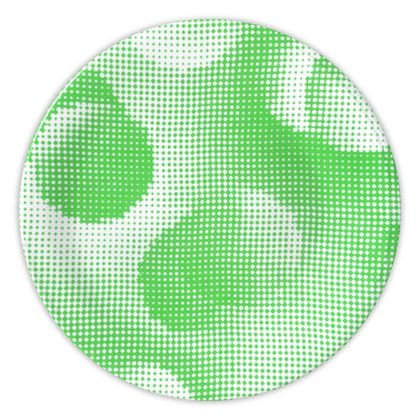 China Plates - Endleaves of Art. Taste. Beauty (1932) Green Remix