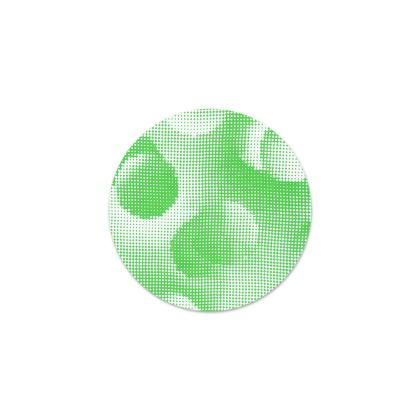 Serving Platter - Endleaves of Art. Taste. Beauty (1932) Green Remix