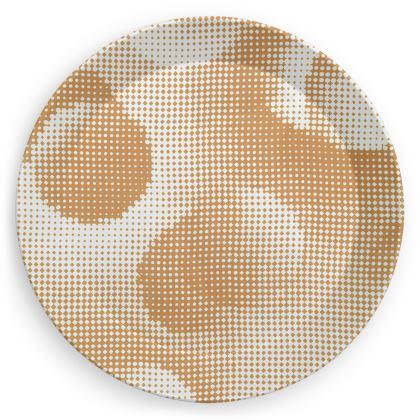 Party Plates - Endleaves of Art. Taste. Beauty (1932) Orange Remix