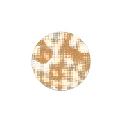 Serving Platter - Endleaves of Art. Taste. Beauty (1932) Orange Remix