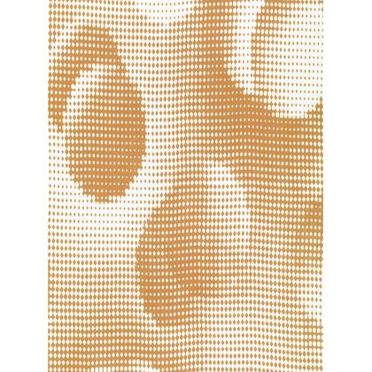 Large Tray - Endleaves of Art. Taste. Beauty (1932) Orange Remix