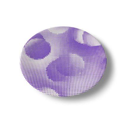 China Plates - Endleaves of Art. Taste. Beauty (1932) Purple Remix