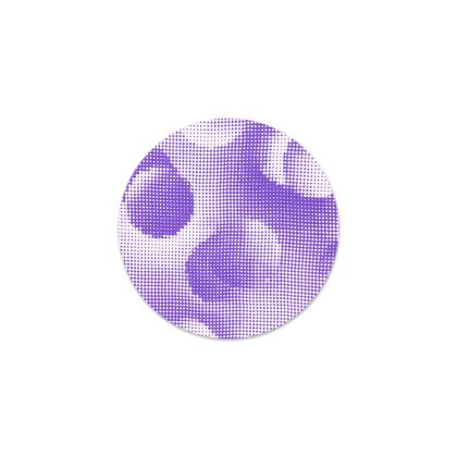 Serving Platter - Endleaves of Art. Taste. Beauty (1932) Purple Remix
