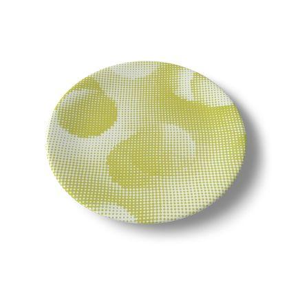 China Plates - Endleaves of Art. Taste. Beauty (1932) Yellow Remix