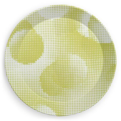 Party Plates - Endleaves of Art. Taste. Beauty (1932) Yellow Remix