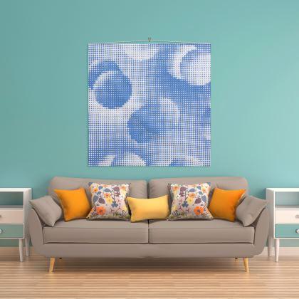 Wall Hanging - Endleaves of Art. Taste. Beauty (1932) Blue Remix