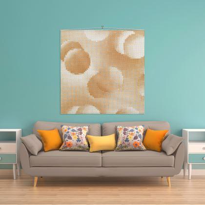 Wall Hanging - Endleaves of Art. Taste. Beauty (1932) Orange Remix