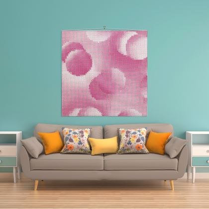 Wall Hanging - Endleaves of Art. Taste. Beauty (1932) Pink Remix