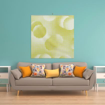 Wall Hanging - Endleaves of Art. Taste. Beauty (1932) Yellow Remix