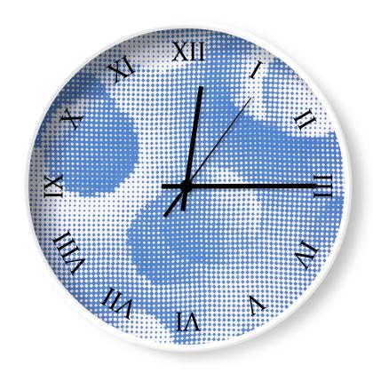 Wall Clocks - Endleaves of Art. Taste. Beauty (1932) Blue Remix