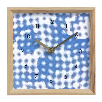 Mantle Clock - Endleaves of Art. Taste. Beauty (1932) Blue Remix