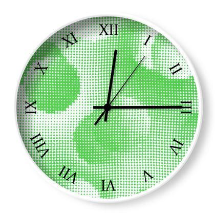 Wall Clocks - Endleaves of Art. Taste. Beauty (1932) Green Remix