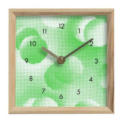 Mantle Clock - Endleaves of Art. Taste. Beauty (1932) Green Remix