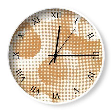 Wall Clocks - Endleaves of Art. Taste. Beauty (1932) Orange Remix