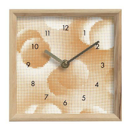 Mantle Clock - Endleaves of Art. Taste. Beauty (1932) Orange Remix