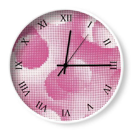 Wall Clocks - Endleaves of Art. Taste. Beauty (1932) Pink Remix
