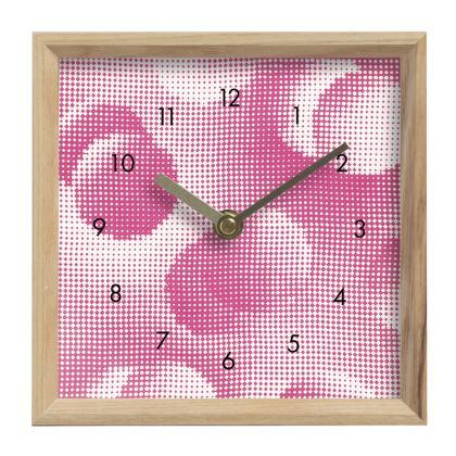 Mantle Clock - Endleaves of Art. Taste. Beauty (1932) Pink Remix