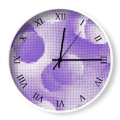 Wall Clocks - Endleaves of Art. Taste. Beauty (1932) Purple Remix