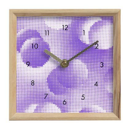 Mantle Clock - Endleaves of Art. Taste. Beauty (1932) Purple Remix