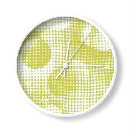 Wall Clocks - Endleaves of Art. Taste. Beauty (1932) Yellow Remix