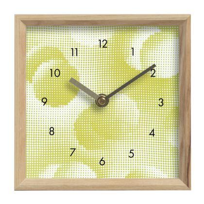 Mantle Clock - Endleaves of Art. Taste. Beauty (1932) Yellow Remix