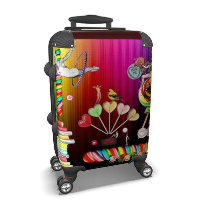 Sweet Rainbow Hug Suitcase