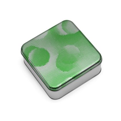 Wrap Lid Tins - Endleaves of Art. Taste. Beauty (1932) Green Remix