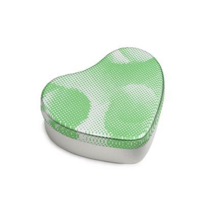 Sweet Heart Tin - Endleaves of Art. Taste. Beauty (1932) Green Remix