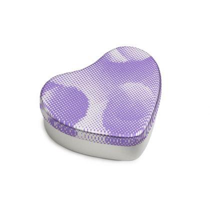 Sweet Heart Tin - Endleaves of Art. Taste. Beauty (1932) Purple Remix