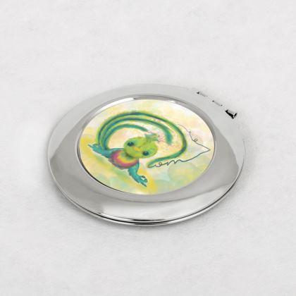 Yogi Bird printed Compact Mirror
